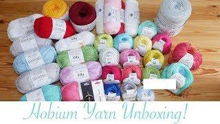 Hobium Yarns Unboxing!