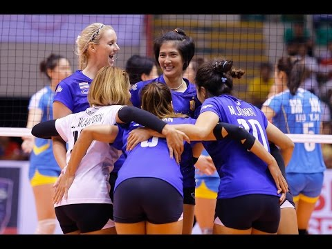 Thailand vs China | 07 Sep 2016 | 2nd Round | 2016 Asian Women's Club Volleyball Championship