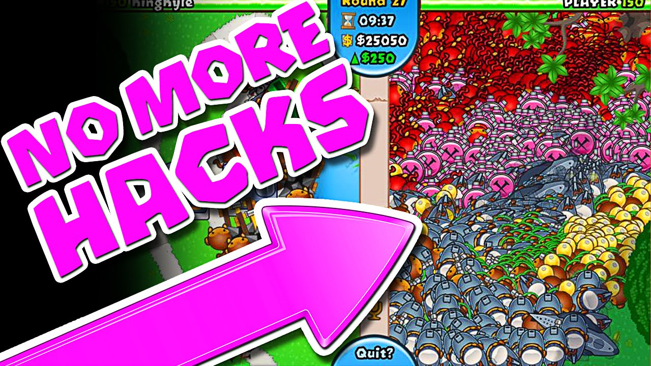 Bloons TD Battles :: NEW GAME TYPE :: NO MORE HACKERS!