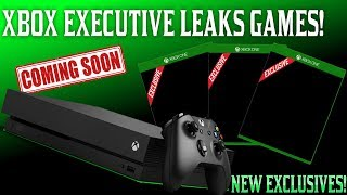 Xbox Executive Just Accidentally Leaked More Unannounced Xbox One Exclusives!