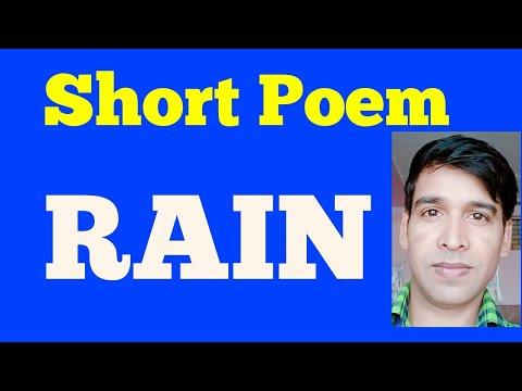 Short Poem Rain