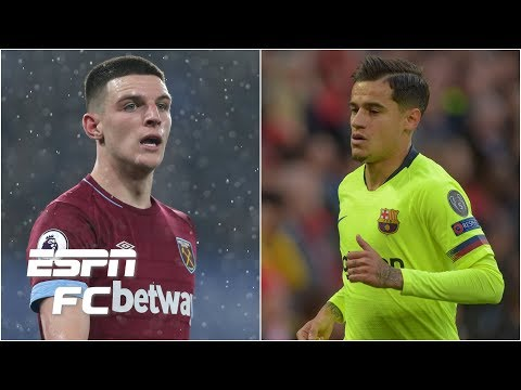 Arsenal's summer targets: Declan Rice, Philippe Coutinho & more   Transfer Rater