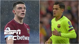 Arsenal\'s summer targets: Declan Rice, Philippe Coutinho & more | Transfer Rater