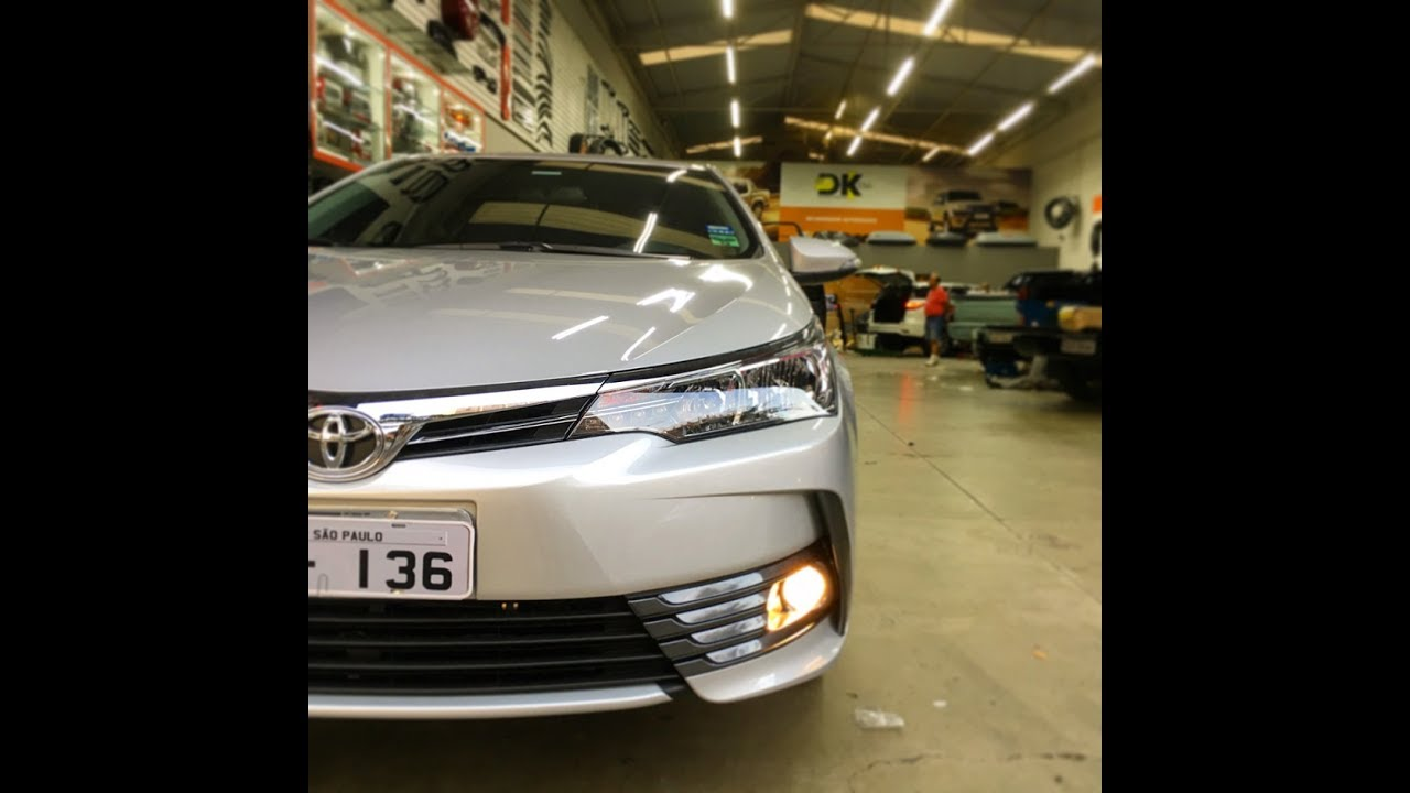 Toyota Corolla 2018 - Farol De Neblina Original