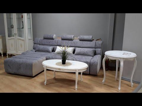 Стильный дизайнерский угловой диван Этюд на механизме пума