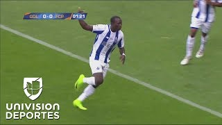 Gol de vestidor. Porto pone el 1-0 antes del minuto 2