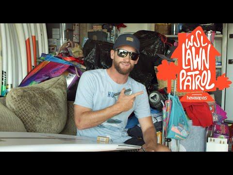 Take A Tour Of Team USA Surf Coach / CT Legend Brett Simpson's Huntington Beach Home | LAWN PATROL