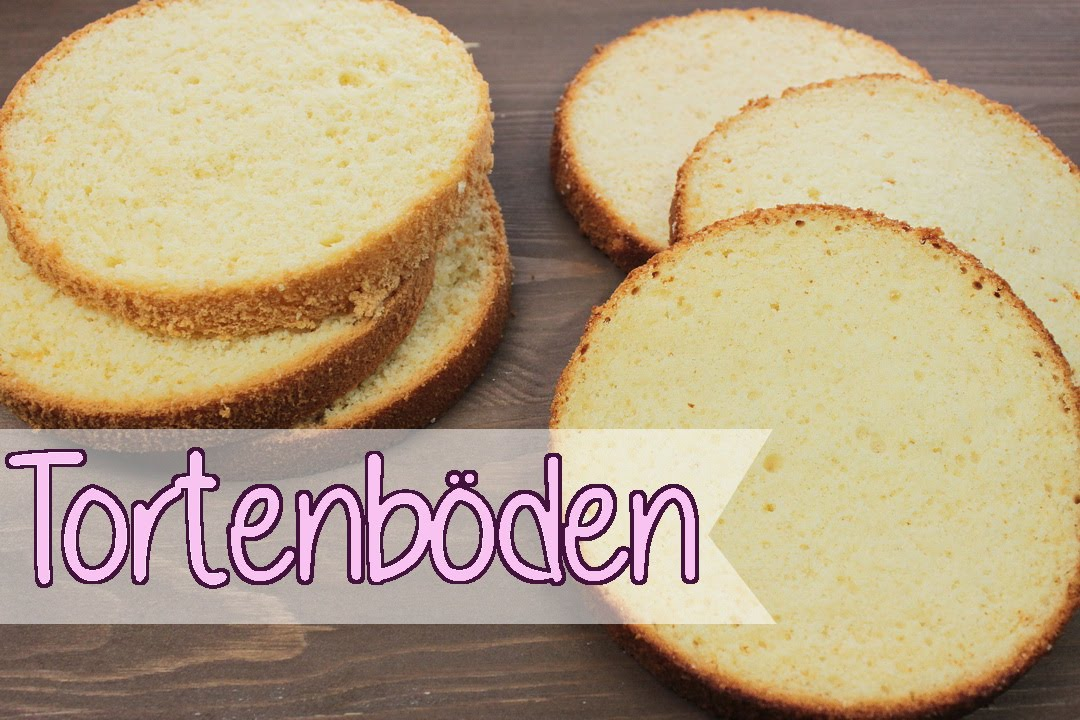 Hohe Torten Backen