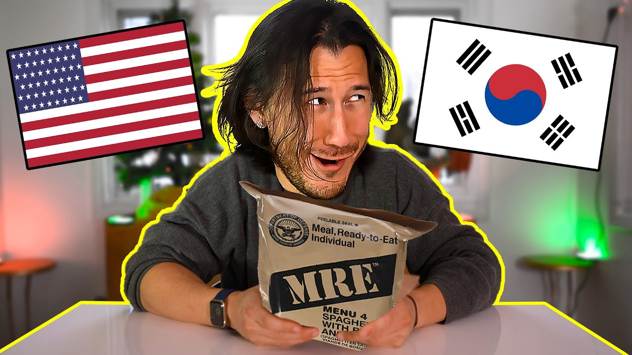 Download Trying Korean, Russian, and American MREs
