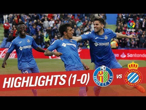 Resumen de Getafe CF vs RCD Espanyol (1-0)