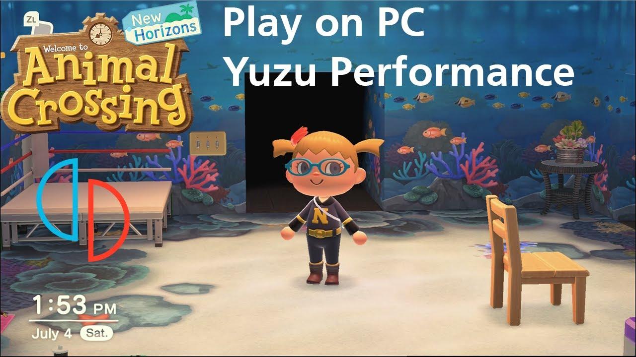 Play Animal Crossing New Horizons on PC using Yuzu 703 ...