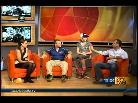 Bruce & Holly Johnson. The interview on the local news Tampico - RE / MAX LIFE