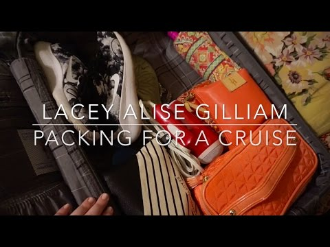 packing for a cruise | lacey alise gilliam