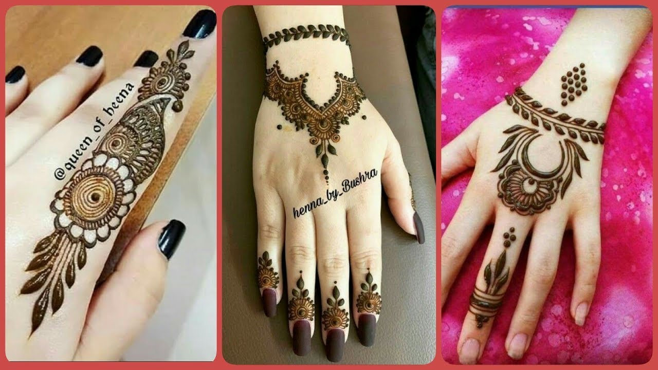 mehndi design simple new 2020