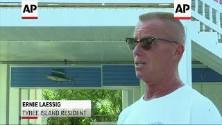 Georgia's Island Residents Mixed On Evacuating