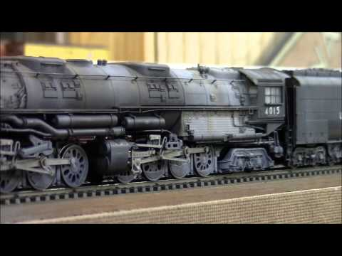 Trix Marklin Big Boy Weathered with Revolution Sound