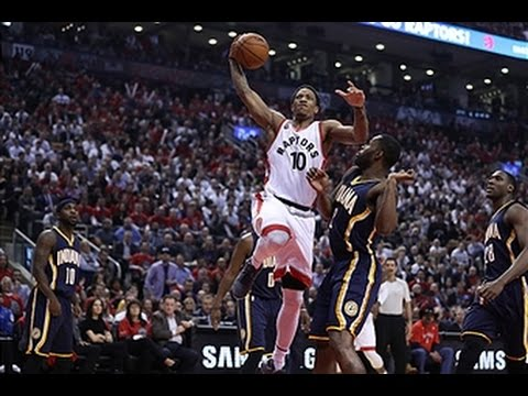 DeMar DeRozan Drops the Hammer on Indiana!