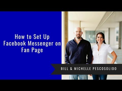 How To Set Up Facebook Messenger On Fan Page
