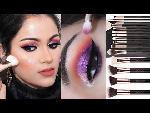 जानें मेकअप ब्रशेज़ कैसे यूज़ करें how to use makeup