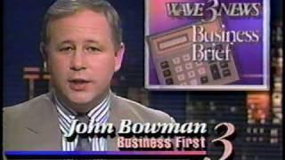 WAVE-TV Channel 3 /  Louisville Ky NBC Ads Feb 1990 (dwightfan2013)