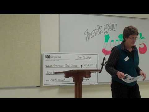 Point Option Alternative School's relief for Haiti program Part 2 (check presentation)