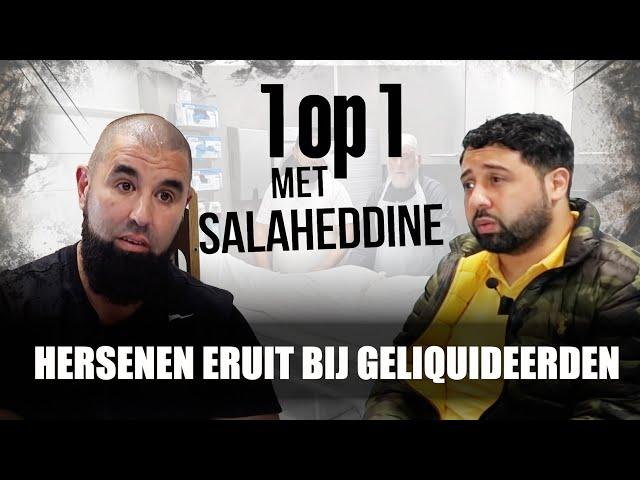 IK WAS GELIQUIDEERDE JONGENS: 1 OP 1 MET MOURAD BADDAOU - Salaheddine