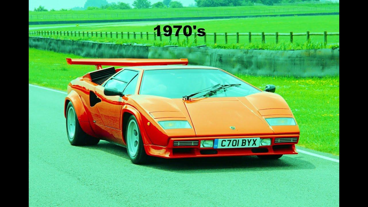 Top 10 Supercars Of The 70 S Lamborghini Countach Ferrari Bb Maserati Bora Amp More Youtube