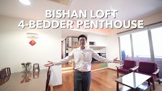 Singapore Condo Property Listing Video Bishan Loft Penthouse For Sale Youtube
