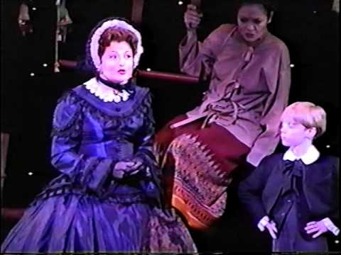 "THE KING AND I--Faith Prince--B'way '97-""I Whistle a Happy Tune"""