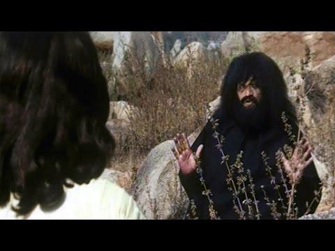Santhi Sandesam Christmas Scene - Jesus Fasting Scene - Super Star Krishna, Jayaprakash Reddy - HD