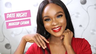 GRWM: Simple  Date Night Makeup | Favorite Lipstick For WOC | Mimie Jay