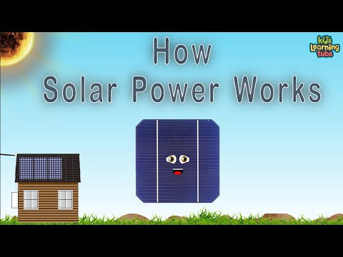 How Do Solar Panels Work for Kids
