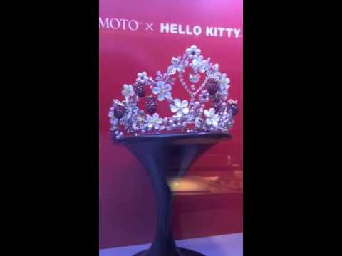 b99a8ef0d High Jewelry Mikimoto Tiara Pearls, Diamonds, & Hello Kitty - YouTube