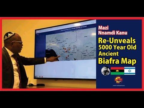 Biafra: Mazi Nnamdi Kanu Unveals 5000 Years Old Biafra Map