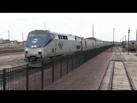 Railfanning Temple, TX - BNSF, Amtrak, And More // Trinity Rail Productions