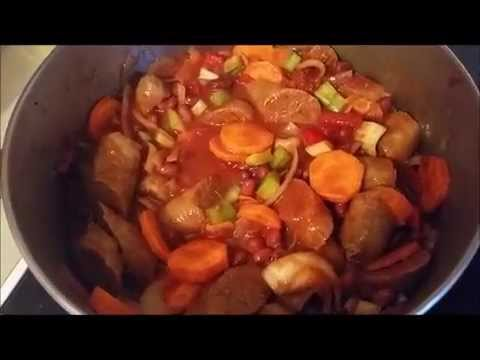 Sausage, Bean and Tomato Casserole