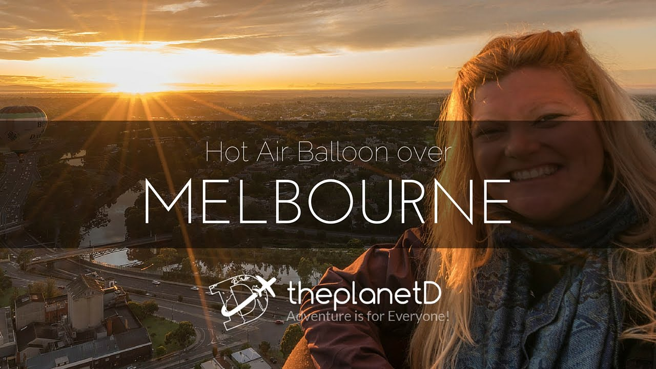 Over melbourne picture of global ballooning melbourne and yarra - Hot Air Balloon Ride Over Melbourne Australia