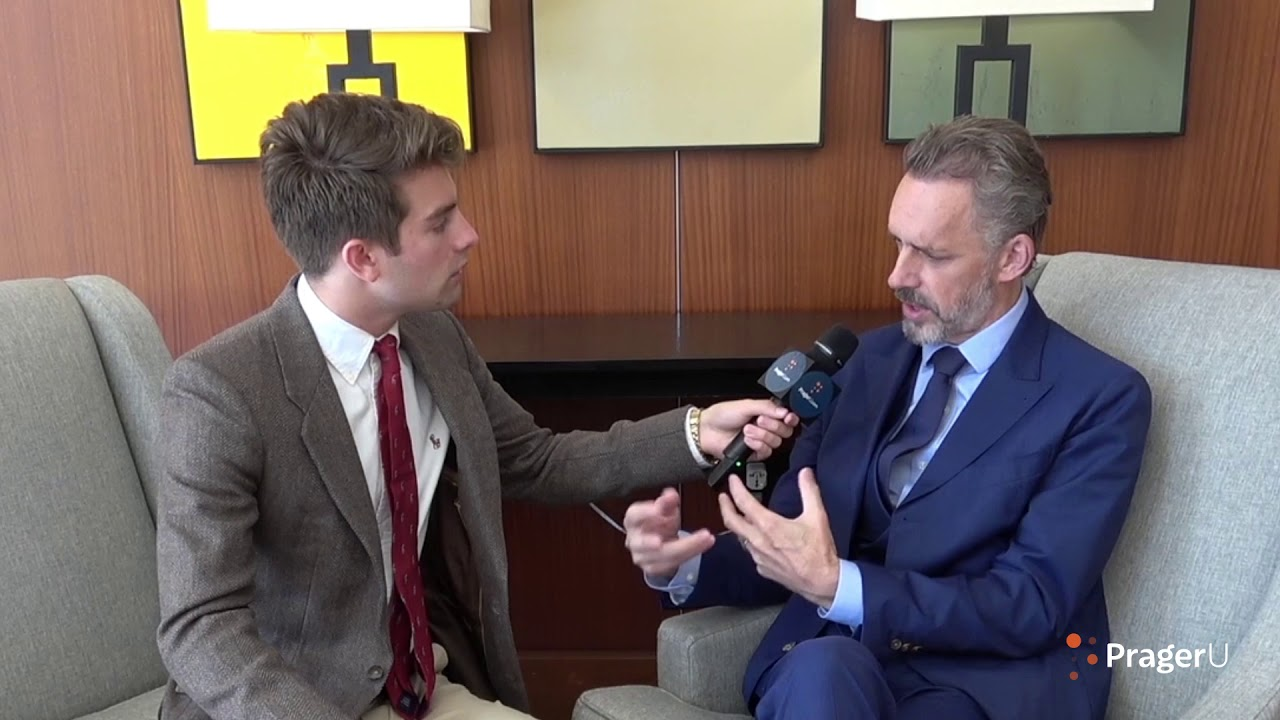 Will Witt sits down with Jordan Peterson at The Young Women's Leadership Summit