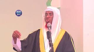 kurraali noqo wixii Ilaahay kuu qoray shar & khayrba    Khutba 22 - 12 - 17 ShMaxamed Cabdi Umal