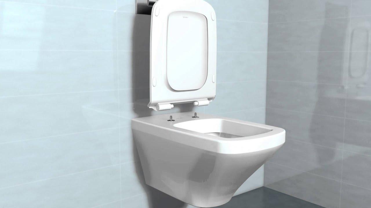 durastyle wc sitz und deckel mit softclose youtube. Black Bedroom Furniture Sets. Home Design Ideas