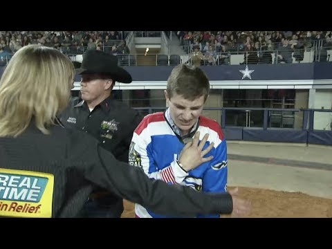 Jess Lockwood Suffers Broken Collarbone in Collision with Wild Goose   2019 PBR Global Cup