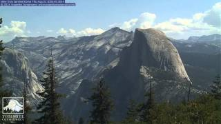 Sentinel Dome, Yosemite National Park, August 2014 Time Lapse