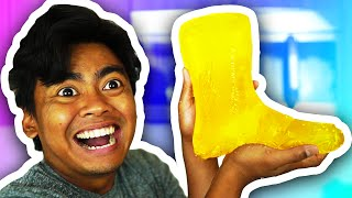 DIY GUMMY RAINBOOTS!