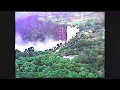 Calandula falls - Remote Angola