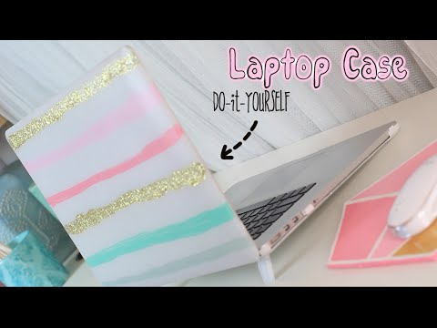 DIY Cute Summer Laptop Case