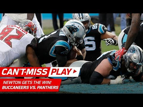 Cam Newton Gets the Win on Amazing TD Drive vs. Tampa Bay! | Can