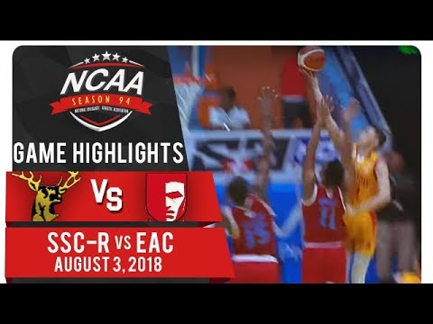 NCAA 94 MB: SSC-R vs. EAC | Game Highlights | August 3, 2018