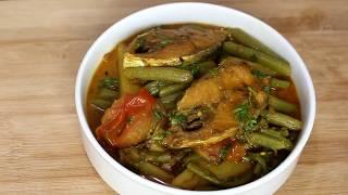 ইলিশের মাছ দিয়ে ডাঁটা রেসিপি || Ilish Macher  Recipe |
