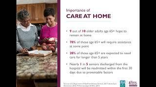 Understanding Home Health vs Home Care - Professional Caregiver Webinar