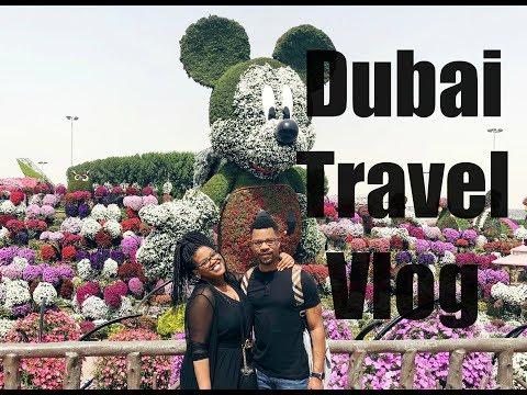 Dubai Travel Vlog + @VersacePalazzo Hotel Tour!